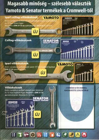 Kép a kategóriának Yamoto és Senator szorítókulcs akció
