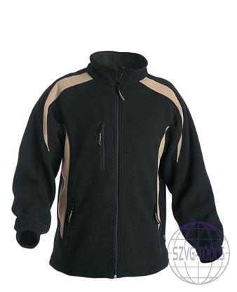 Kép TENREC polár kabát fekete 2XL