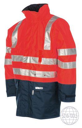 Kép WINSELER kabát fényvisszaver piros 3XL