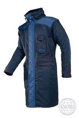 Kép VERBIER hosszú téli kabát navy 2XL