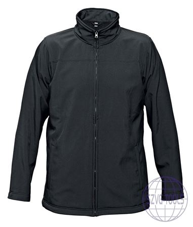 Kép: BE-02-003 softshell kabát fekete L