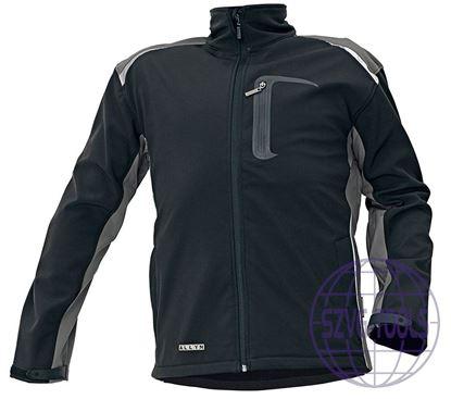Kép ALLYN NEW SOFTSHELL kabát fekete L