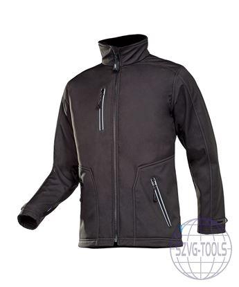 Kép PULCO softshell kabát fekete L