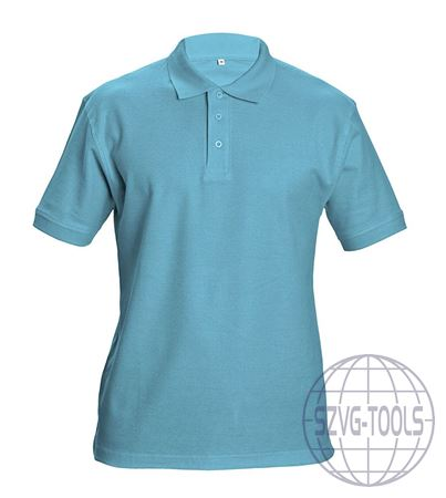 Kép: DHANU piké póló ég kék L