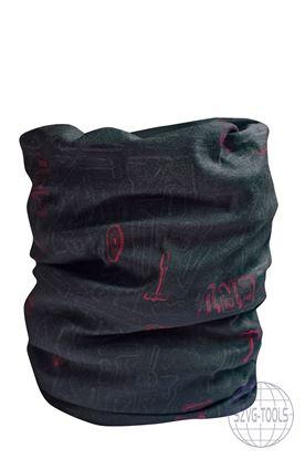 Kép CLIF CRV multifunkciós sál fekete