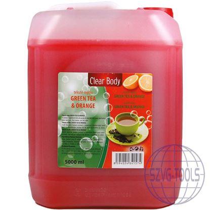 Kép Clear body folyékony szappan mandula 5l