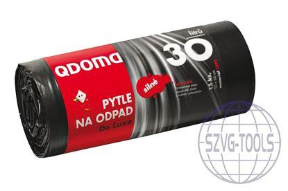 Kép Szemeteszsák LDPE erős 30l/15db