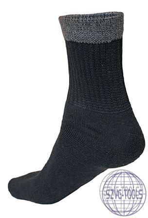 Kép: ARAE zokni fekete n. 39/40