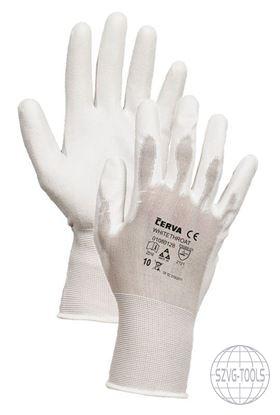 Kép WHITETHROAT kesztyű nylon-18G fehér 10