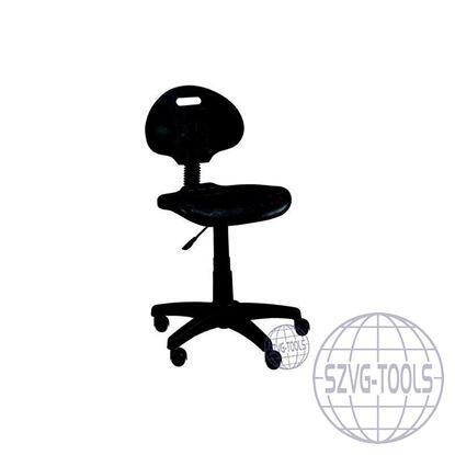 Kép PU ipari szék lábtartó nélkül