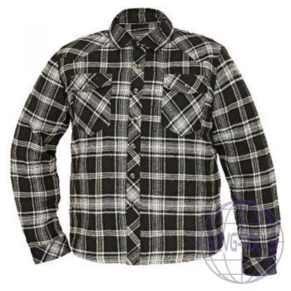 Kép LEGGA meleg ing fekete/fehér 2XL