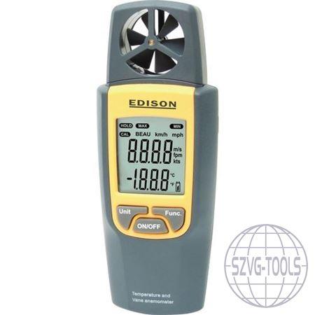 Kép: Légáramlás-, sebesség- és hőmérsékletmérő