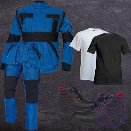 Kép: MAX munkaruha csomag-kabát-derekas nadrág-póló-bakancs