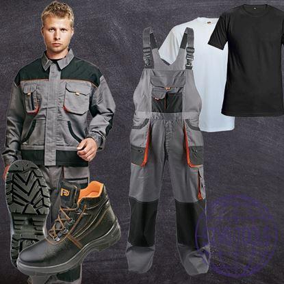 Fridrich-BE-csomag- kabát, kantáros nadrág, póló, bakancs