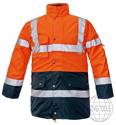 Kép BIROAD HV kabát n.sárga-kék L