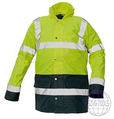 Kép SEFTON bélelt HiVis kabát sárga XL