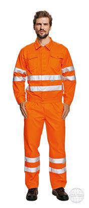 Kép KOROS HiVis kabát narancs 48