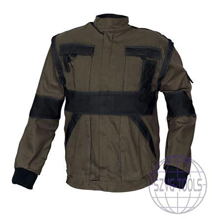 Kép: MAX kabát 260 g/m2 barna/fekete 46