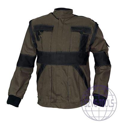 Kép MAX kabát 260 g/m2 barna/fekete 58