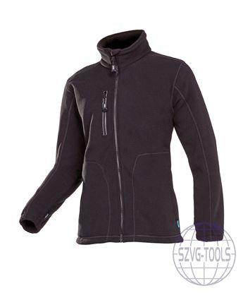 Kép MERIDA polár kabát fekete L