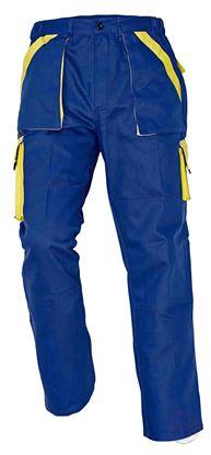 Kép MAX nadrág 260 g/m2 kék/sárga 46