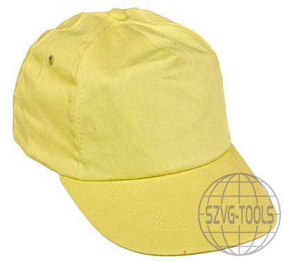 Kép LEO baseball sapka sárga