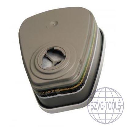 Kép 3M 6038 szűrőbetét P3, gözök HF, O3