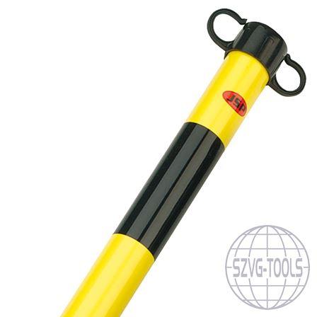 Kép: JSP HDE100- láncko oszlop fekete/sárga