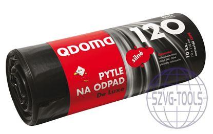 Kép Szemeteszsák LDPE erős 120l/10db