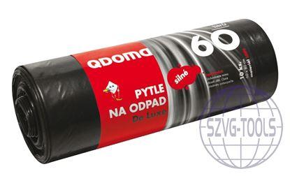 Kép Szemeteszsák LDPE erős 60l/10db