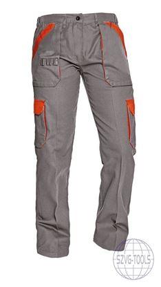 Kép MAX LADY női nadrág szürke/narancs 40