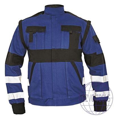 Kép MAX REFLEX kabát kék/fekete 52