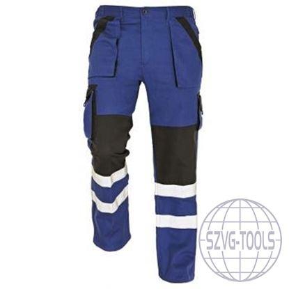 Kép MAX REFLEX nadrág kék/fekete 52