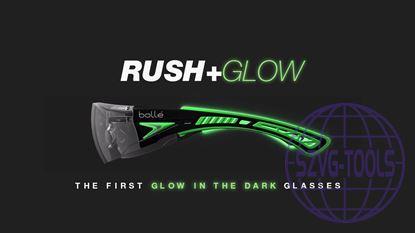 Kép Bollé Rush + Glow Fluoreszkáló szárú szemüveg